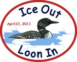 Ice Out/Loon In party set April 21