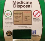 Medicine drop box